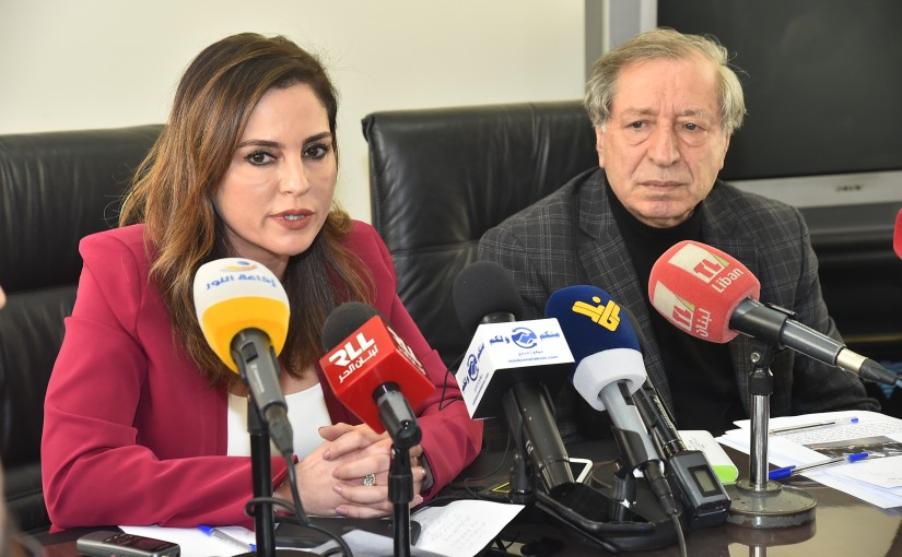 Minister Manal Abdel Samad meets a Delegation from Information Council
