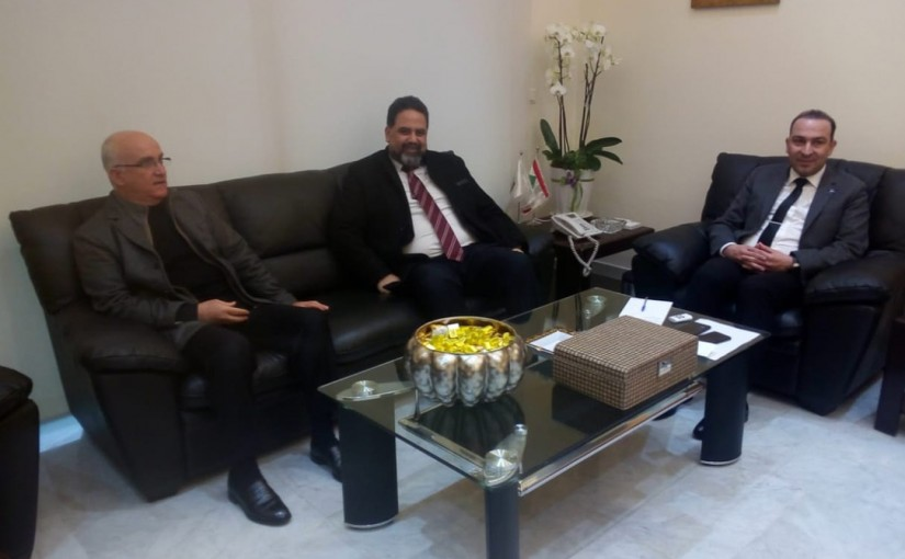 Minister Abass Morthada meets a Delegation from UNIFIL