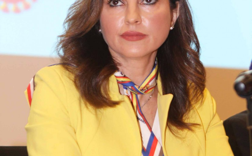 Press Conference for Minister Manal Abdel Samad at the Ministry of Education