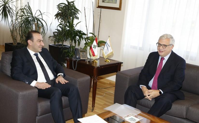 Minister Abass Morthada meets Mexican Ambassador