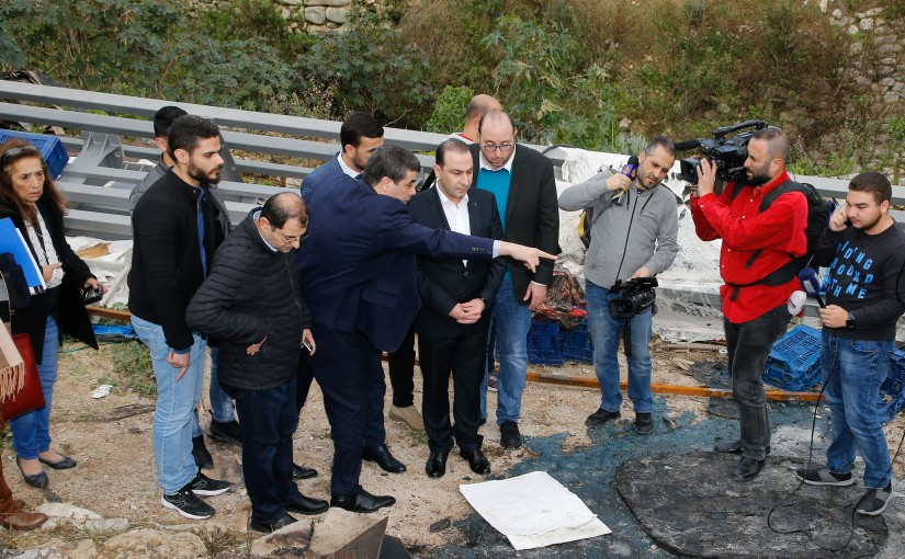 Minister Abass Morthada Visits Sown Town Beirut