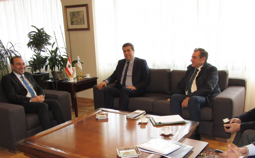 Minister Abass Morthada meets a Delegation from Ministry of Culture