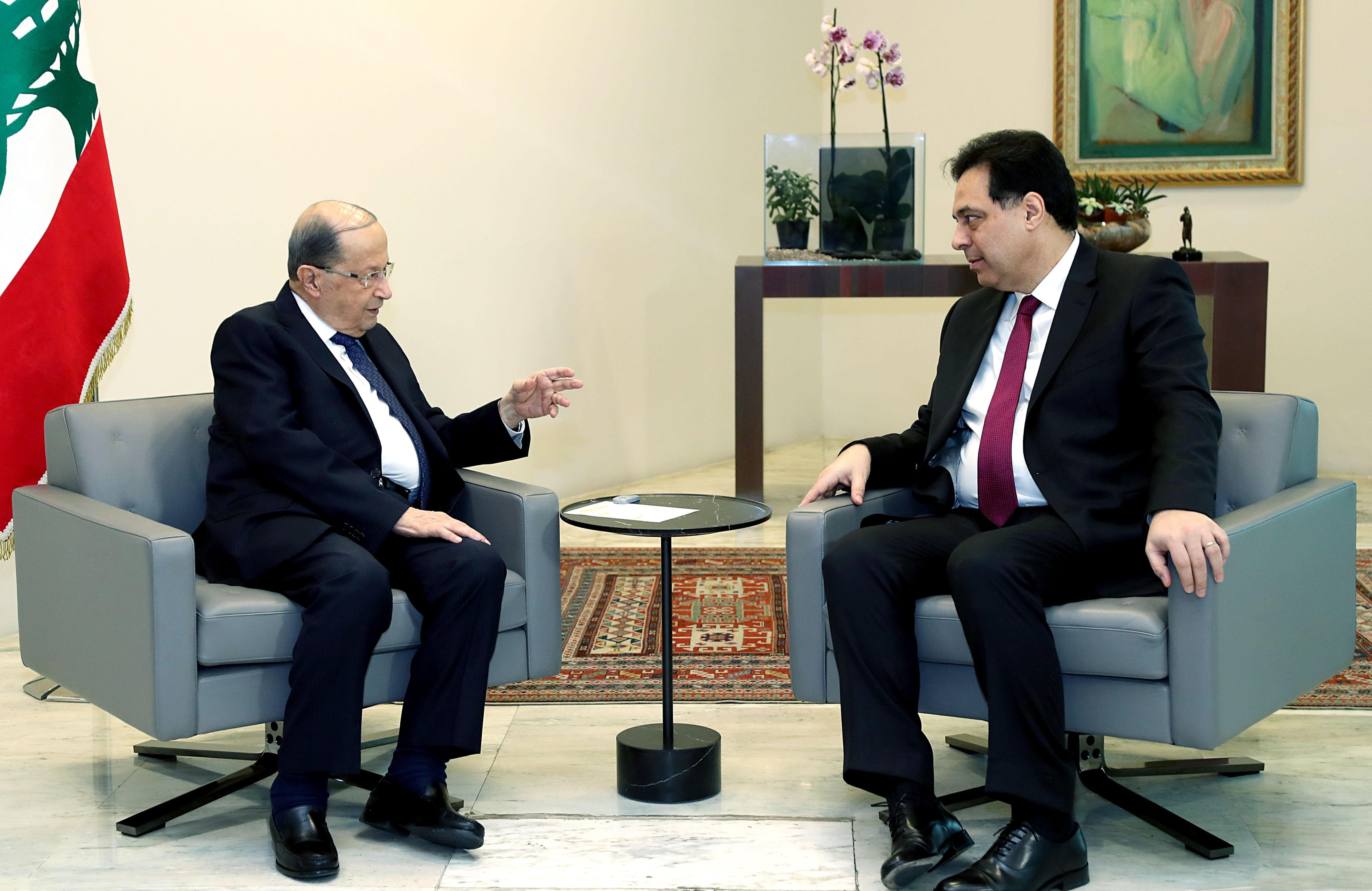Prime Minister Dr. Hassan Diab. copy