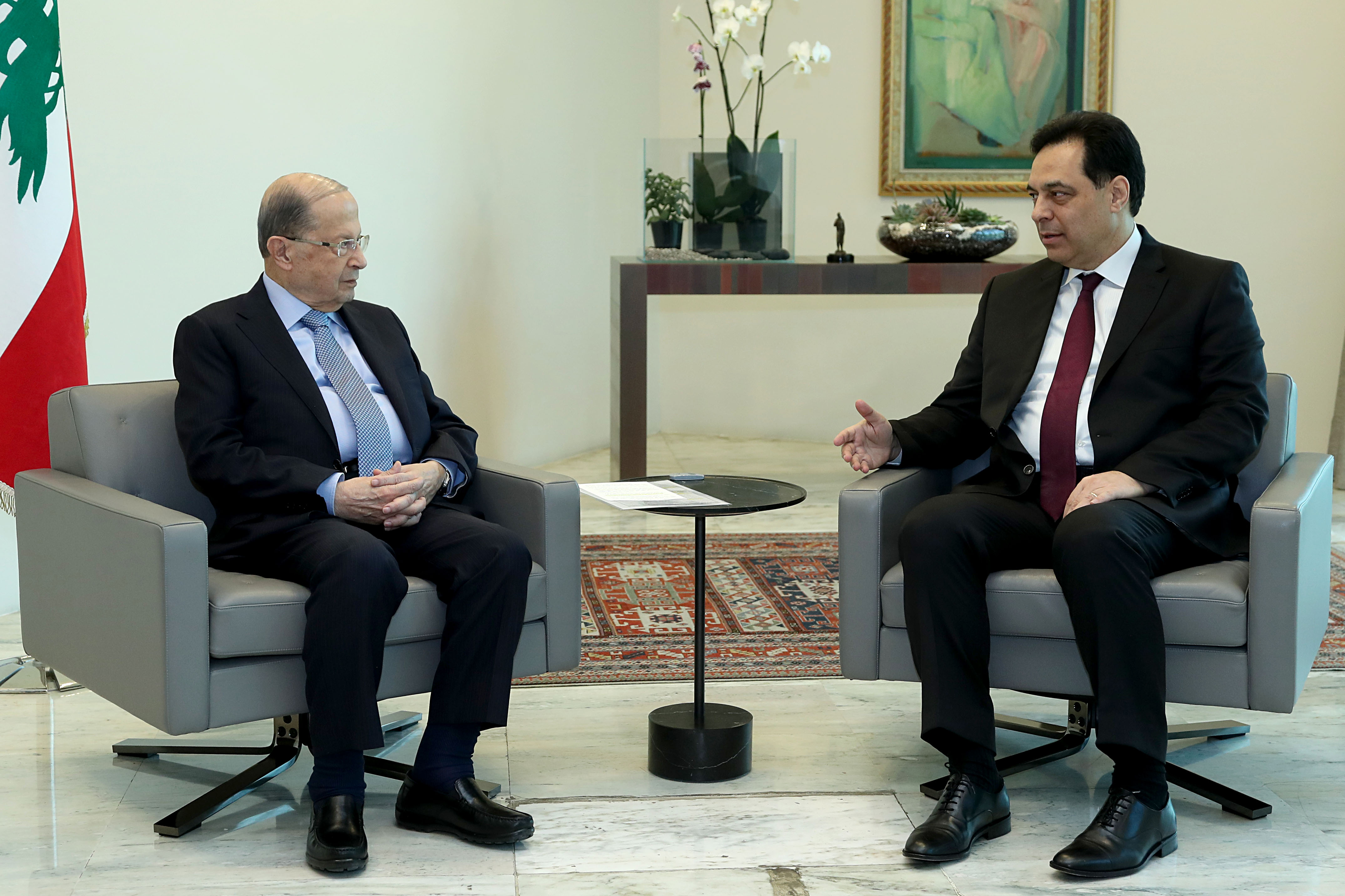 2 -Prime Minister Dr. Hassan Diab