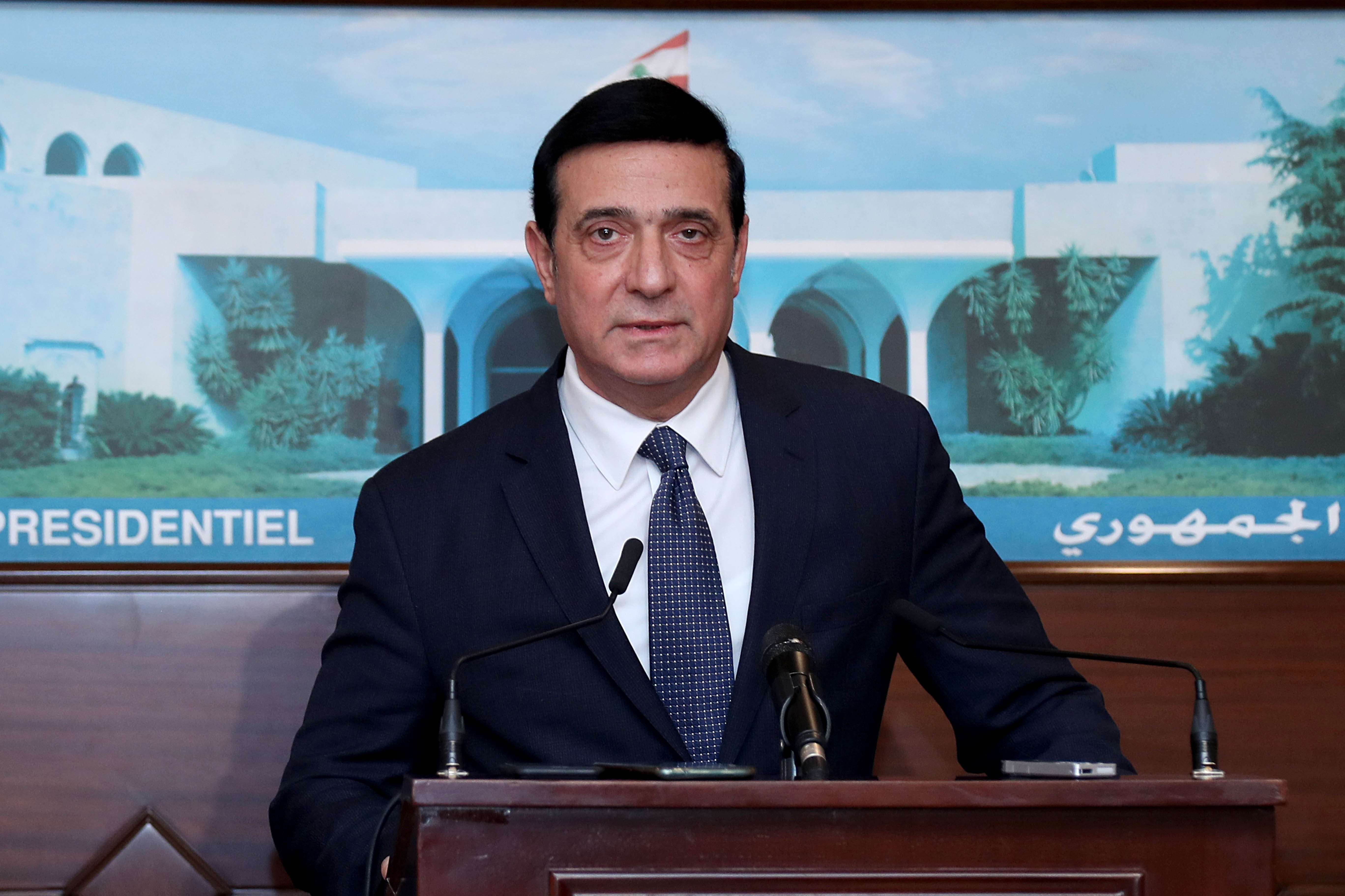 3 -Minister Michel Najjar 1