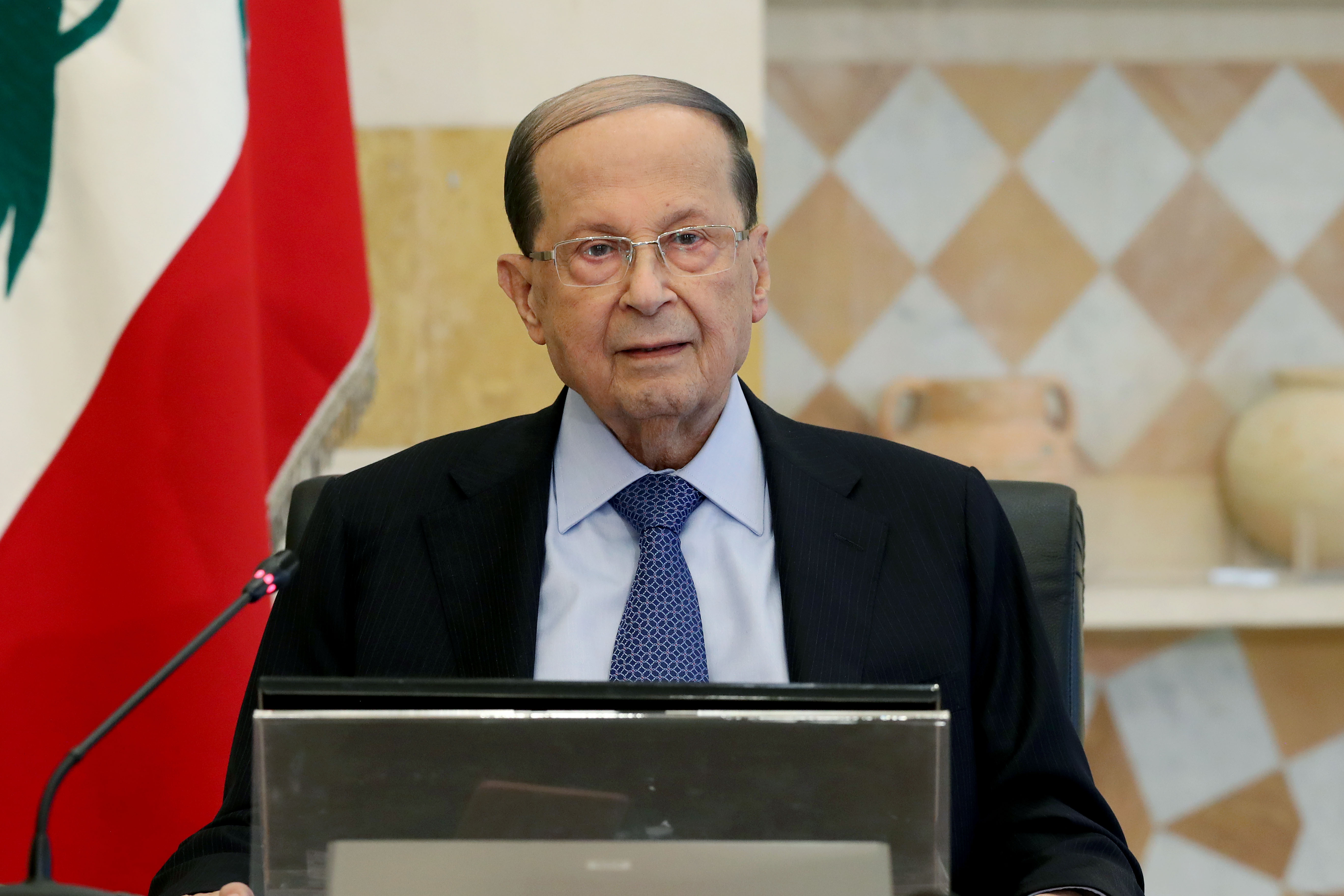 3 - President Michel Aoun Speech to the Lebanese. 1