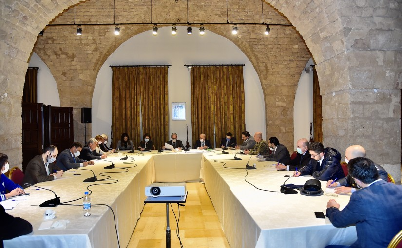 Meeting for Social Affairs Committee at the Grand Serail