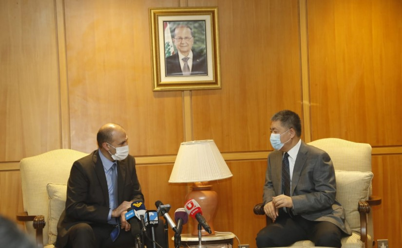 Minister Hamad Ali Hassan Visits Rafic Hariri Beirut Airport