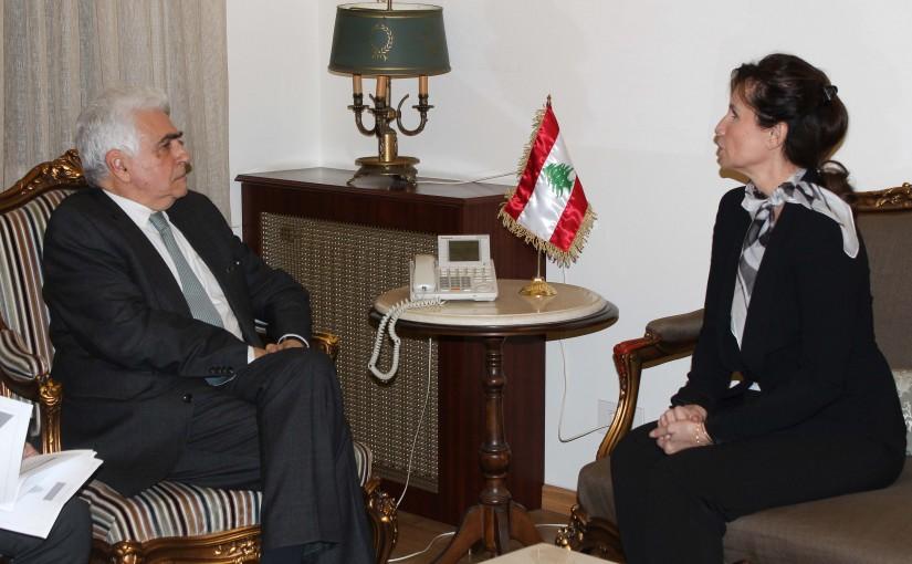 Minister Nassif Hiti meets Czech Ambassador