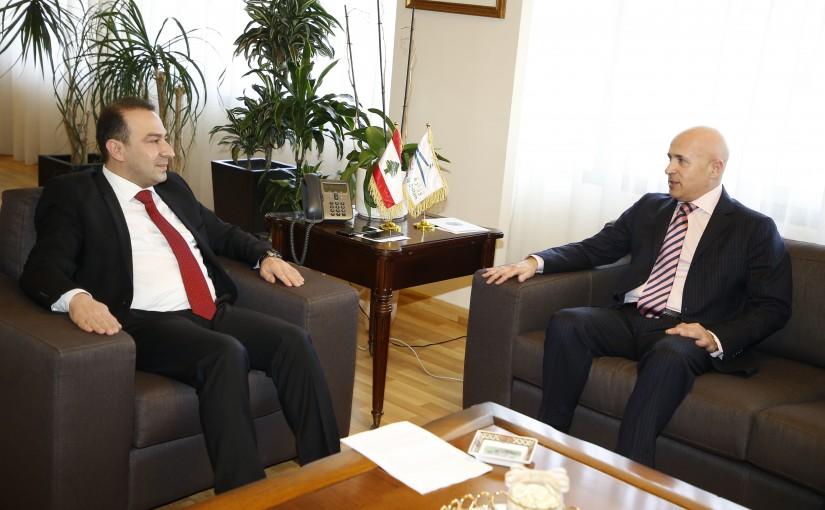 Minister Abass Morthada meets Argentine Ambassador