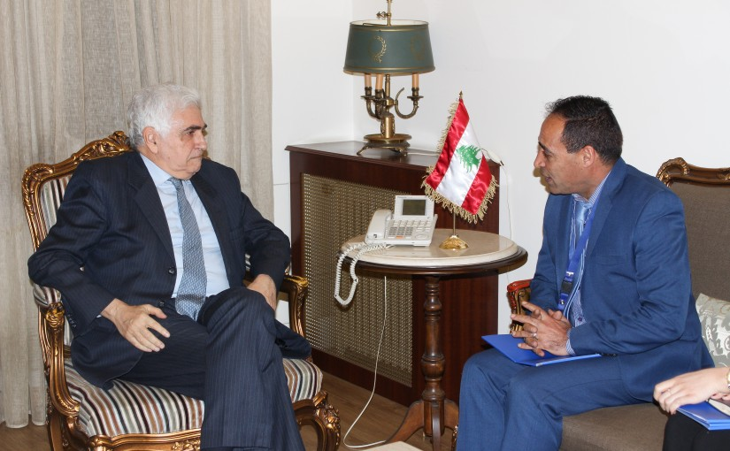 Minister Nassif Hiti meets Portugal Charge D Affairs