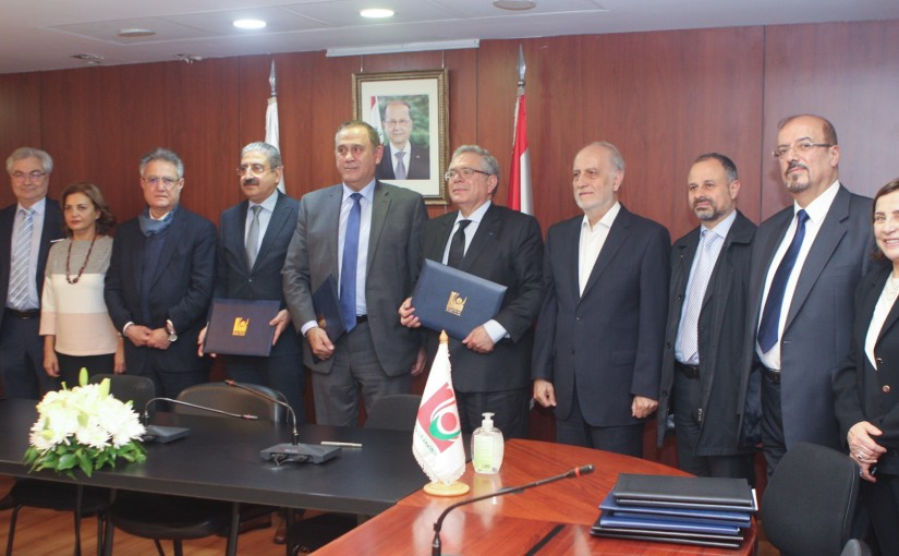 Minister Imad Habalah Visits the Lebanese University