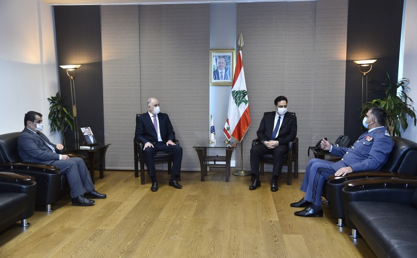 Pr Minister Hassan Diab Visits the Lebanese Security Forces