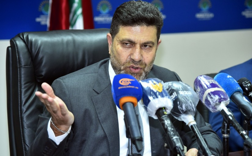 Press Conference for Minister Raymond Ghagar