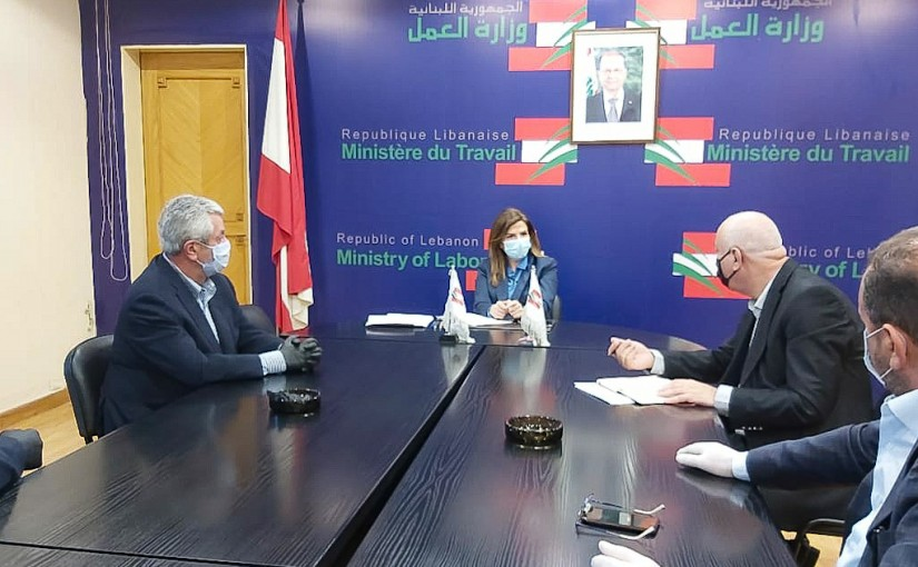 Minister Lamya Yamine meets a Delegation from Tourism Syndicate