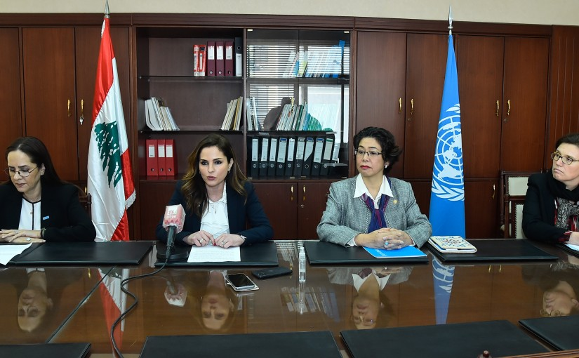 Minister Manal Abdel Samad meets a Delegation from World Health Organisation