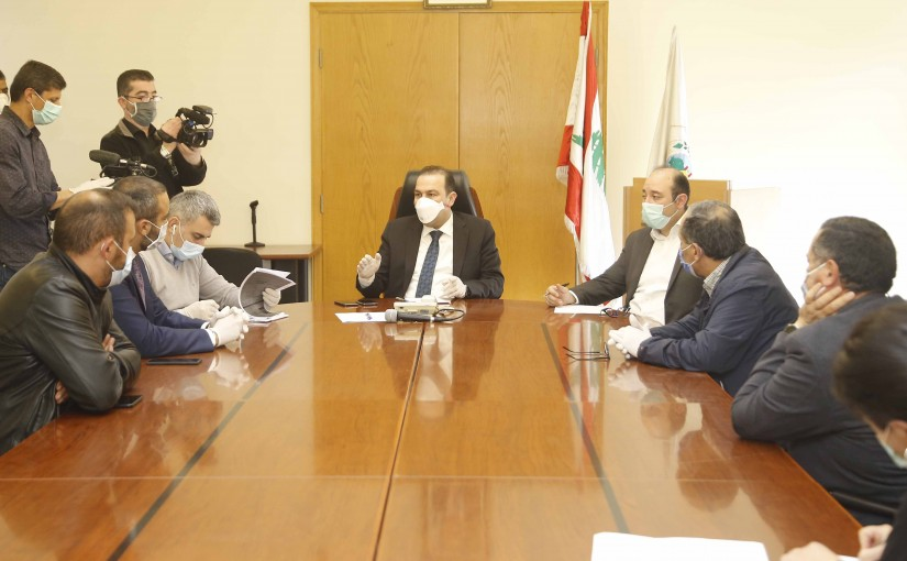 Minister Abass Morthada meets a Delegation from Livestock sector