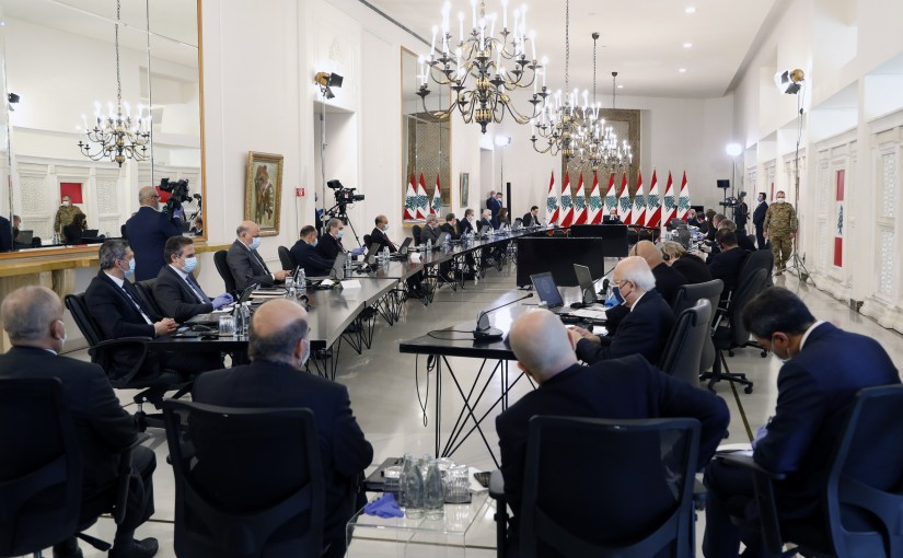 President Michel Aoun Heading The International Support Group For Lebanon
