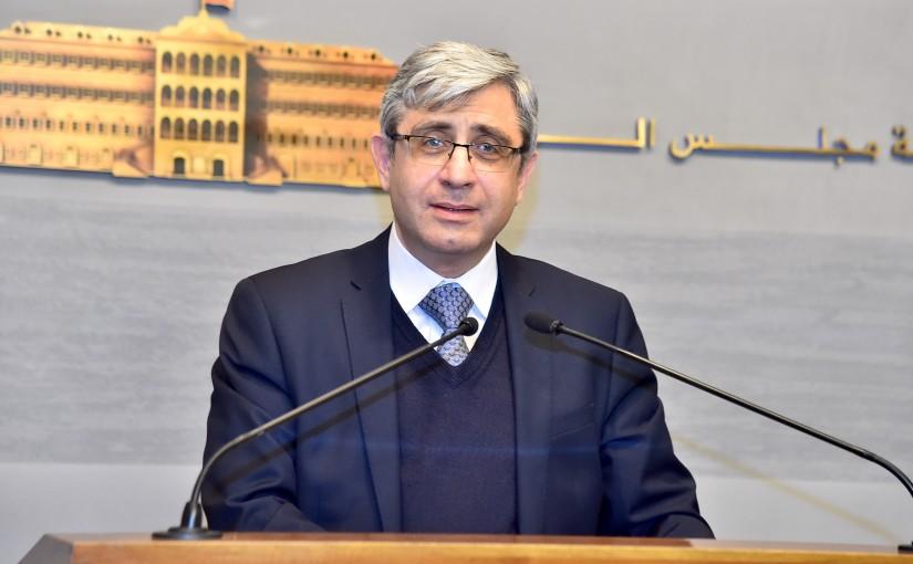 Press Conference for Minister Tarek Majzoub