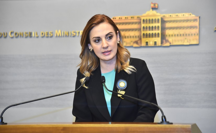 Press Conference for Minister Vartineh Ohanian