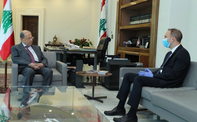 President Michel Aoun Meets Mouhafiz of Baalbek-Hermel Bachir Khoder