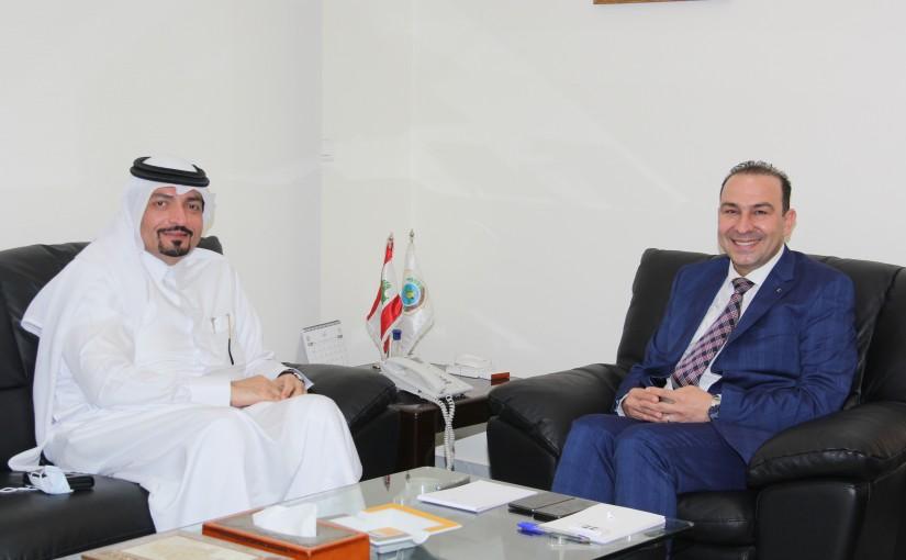 Minister Abass Morthada meets Qatar Ambassador