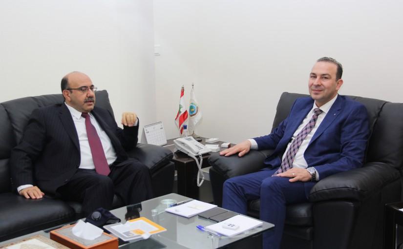 Minister Abass Morthada meets Iranian Ambassador