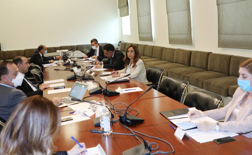 Minister Zeina Akkar Heading tje Employees Committee