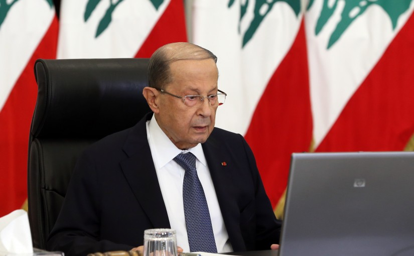 President Michel Aoun Meets Heads of The Parliamentary Blocs