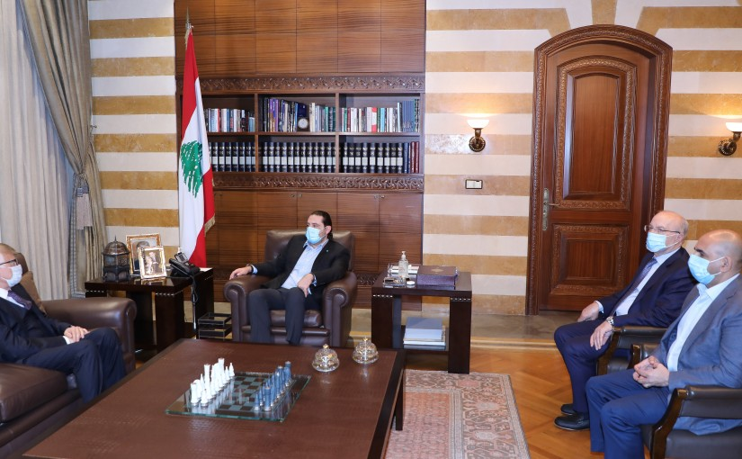 Former Pr Minister Saad Hariri meets Russian Ambassador