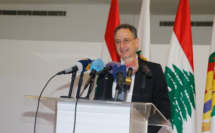 Visits for Minister Raoul Nehme at Haddath Municipality