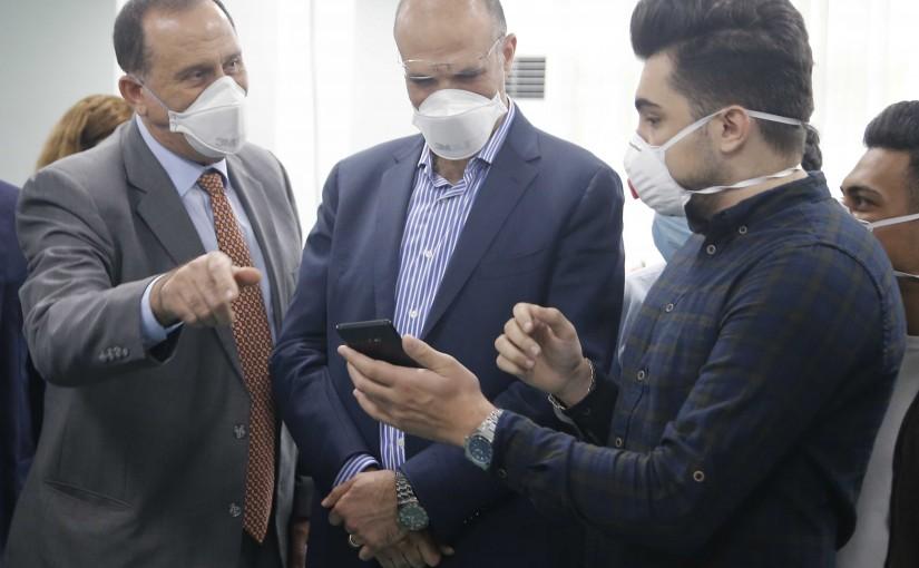 Minister Hassan Hamad Visits Rafic Hariri Hospital
