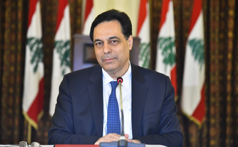 Pr Minister Hassan Diab meets a Delegation from Lebanese University