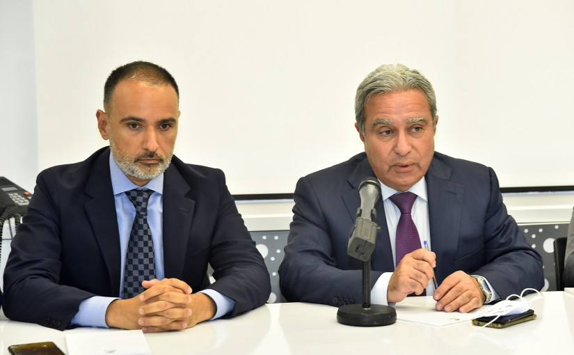 Minister Ramzi Mcharafieh Visits IDAL