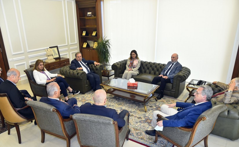 Minister Manal Abdel Samad Visits the Press Order