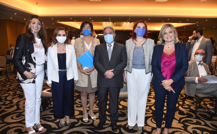 Minister Ramzi Moucharafieh Attends a Conference at Movenpick Hotel