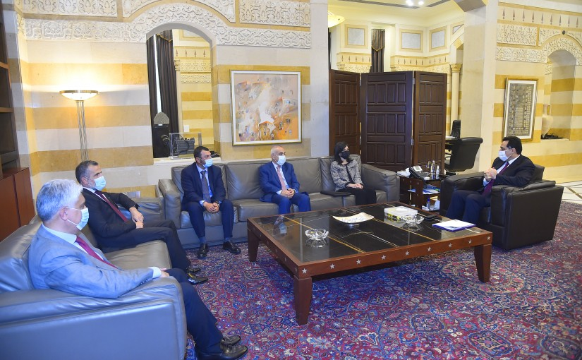 Pr Minister Hassan Diab meets a Delegation from BDLC