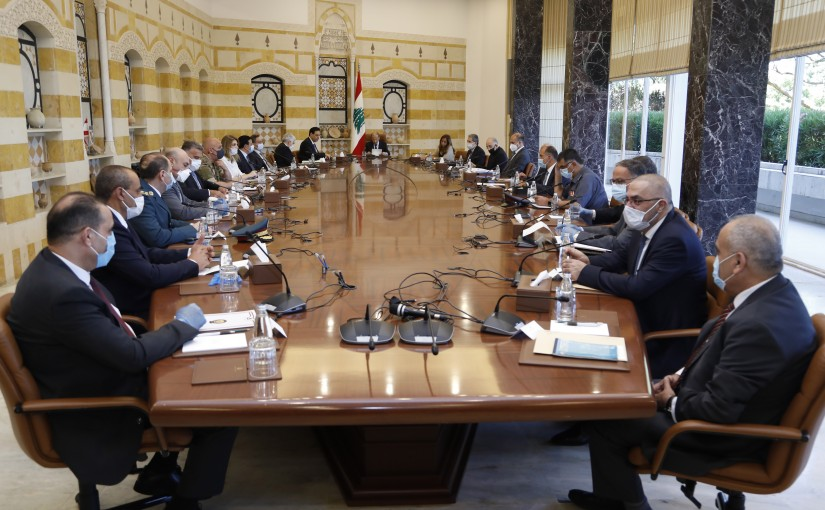 President Michel Aoun Heading The Highest Council of Defense