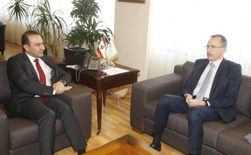 Minister Abass Morthada meets Roumanian Ambassador