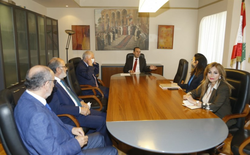 Minister Abass Morthada meets  Delegation from UNESCO