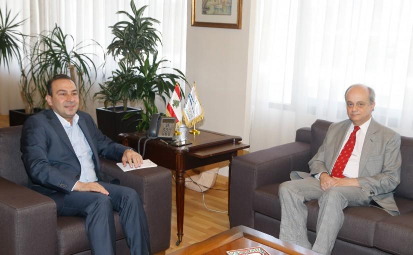 Minister Abass Morthada meets Spanish Ambassador
