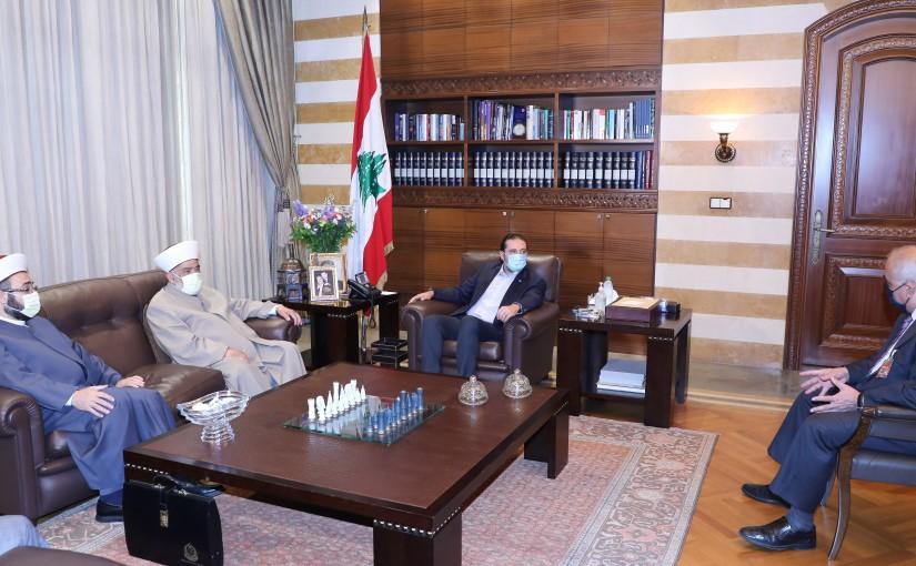 Former Pr Minister Saad Hariri meets Multi Ali Jouzou