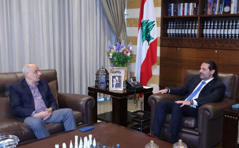 Former Pr Minister Saad Hariri meets Mr Imad Kraydiyeh