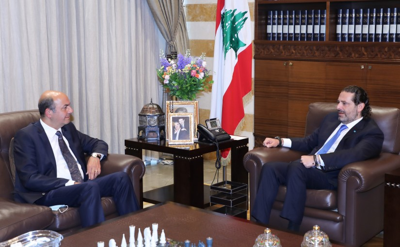 Former Pr Minister Saad Hariri meets Turkish Ambassador