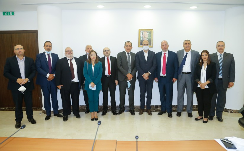 Minister Hassan Hamad meets a Delegation from Tourism Syn
