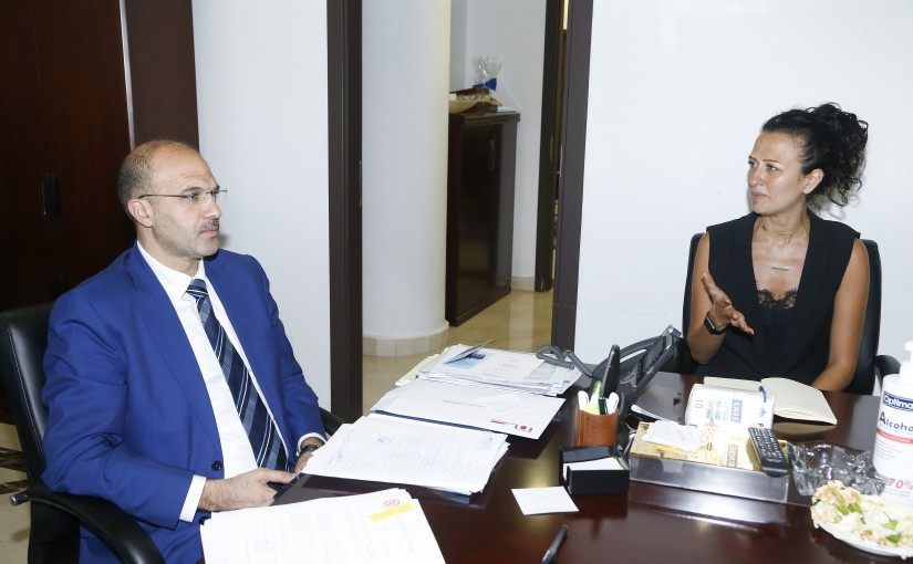 Minister Hassan Hamad meets a Delegation from American Syrian Doctor