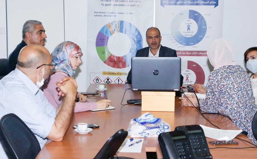 Minister Hassan Hamad meets a Delegation from International Lecture