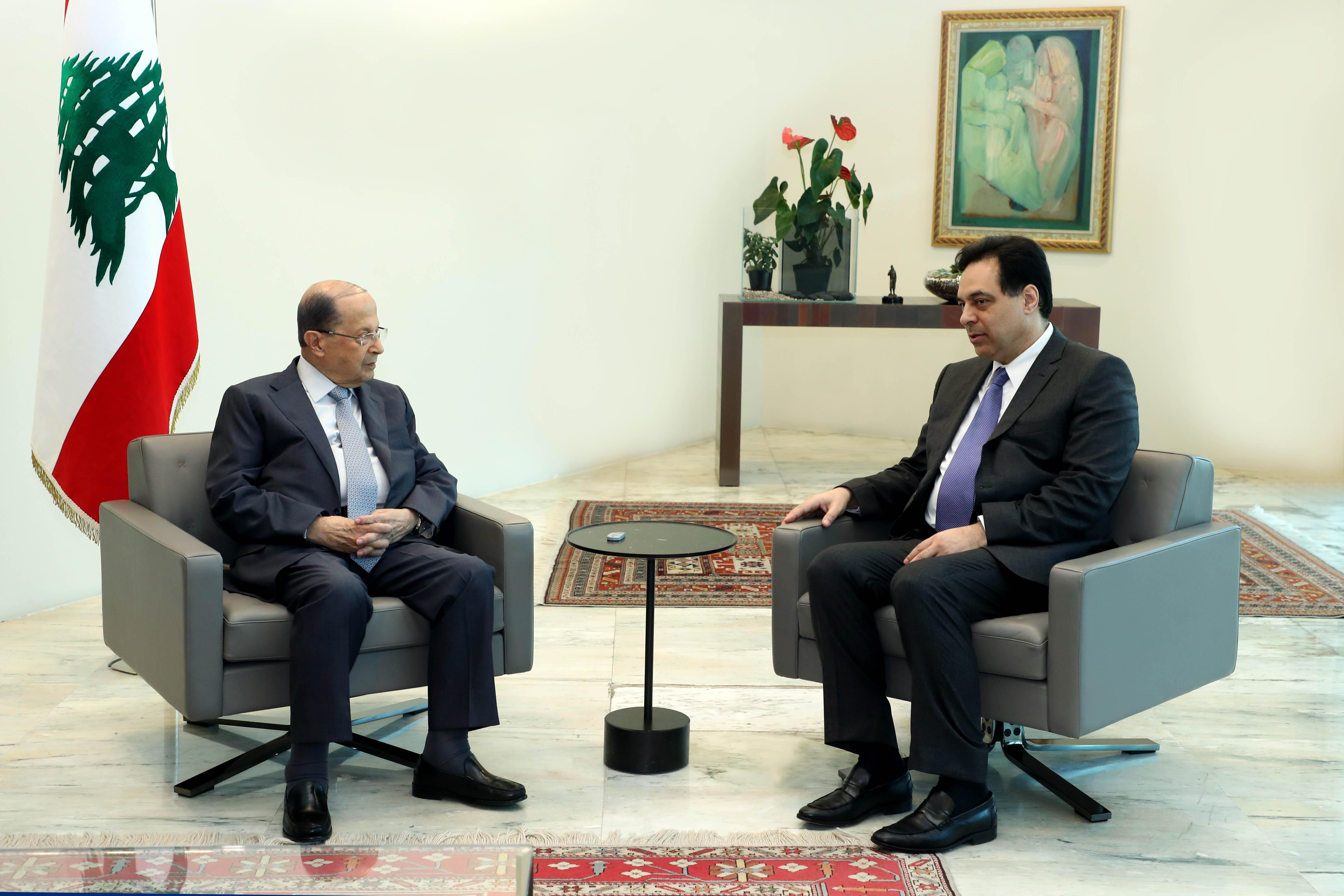 Prime Minister Hassan DiabI