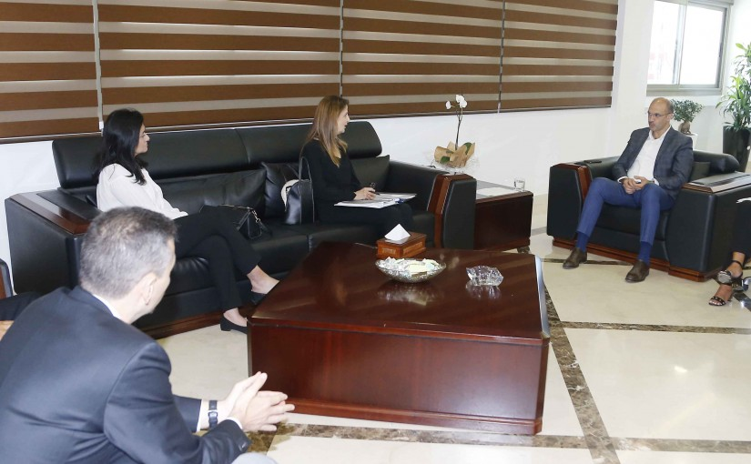 Minister Hassan Hamad meets a Delegation from Drugs Industrial Syndicate