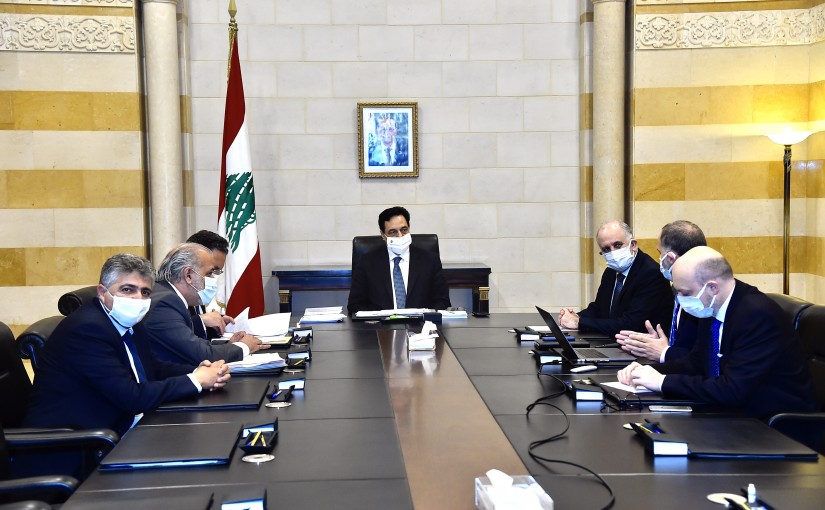 Pr Minister Hassan Diab Heading a Committee for Garbage Problem